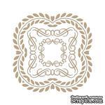 Пластины для фольгирования от Spellbinders - Elegant Square - ScrapUA.com