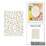 Пластина для фольгирования от Spellbinders - Scattered Dot Pattern - ScrapUA.com