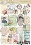Наклейки от Melissa Frances  - C'est La Vie Vintage Stickers, 21 шт - ScrapUA.com