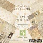 Набор бумаги от Melissa Frances - Attic Treasures - 15х15 см - ScrapUA.com