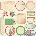 Высечки от Melissa Frances - Countdown To Christmas Cardstock Die - Cuts.Размер от 3,5 х 6,5 см до 5,5 х 10 см - ScrapUA.com