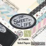 Набор бумаги от Melissa Frances - Sweet Life, 15х15 см - ScrapUA.com