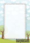 Двусторонняя бумага скрапбукинга от Galeria Papieru - LT 2, 10 x 14,5 см - ScrapUA.com