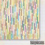 Лист двусторонней скрапбумаги от Galeria Papieru - изучение жизни 02,30,5х30,5 см - ScrapUA.com