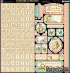 ЦЕНА СНИЖЕНА! Набор наклеек Graphic 45 - Sweet Sentiments - Stickers - ScrapUA.com