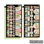 ЦЕНА СНИЖЕНА! Высечки из чипборда Graphic 45 - Botanical Tea - Banners, 30х30 см - ScrapUA.com