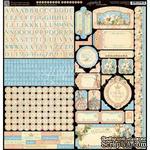 Наклейки Graphic 45 - Gilded Lily - Stickers, 30х30 см. - ScrapUA.com