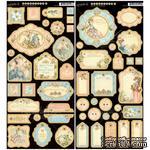 Высечки из чипборда Graphic 45 - Gilded Lily - Journaling Chipboard, 15х30 см - ScrapUA.com