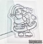 Набор штампов Gerda Steiner - Puppy Kisses for Santa 3x4 Clear Stamp Set - ScrapUA.com