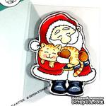 Набор штампов Gerda Steiner - Christmas Kitten 4x6 Clear Stamp Set - ScrapUA.com