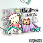 Набор штампов Gerda Steiner - Baby Girl Christmas 3x4 Clear Stamp Set - ScrapUA.com