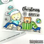 Набор штампов Gerda Steiner - Baby Boy Christmas 3x4 Clear Stamp Set - ScrapUA.com