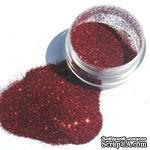 Глиттер  Zinat, цвет - красный, 10мл - ScrapUA.com