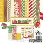 Набор бумаги и наклеек от Glitz Design - Hello December Collection Pack - ScrapUA.com