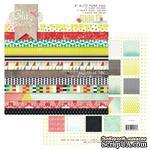 Набор бумаги от Glitz Design - Finnley Paper Pad, 15х15 см - ScrapUA.com