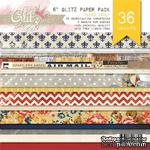 Набор бумаги от Glitz Design - Yours Truly - 15х15 см - ScrapUA.com