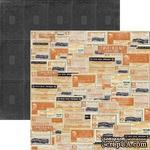 Лист скрапбумаги My Mind's Eye Labels, 30х30 см, двусторонняя - ScrapUA.com
