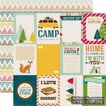 Лист бумаги с набором карточек для журналинга от Echo park - Journaling Card Paper - ScrapUA.com