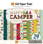"Набор бумаги от Echo Park - ""Happy Camper"", 15x15 см, 24 листов - ScrapUA.com"