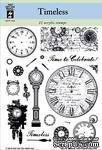 Набор акриловых штампов HOTP - Timeless Stamp Set, размер 14х17,8 см - ScrapUA.com