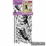 Набор наклеек-высечек HOTP - Fairies Dazzles Black, размер 10х23 см, 67 шт., цвет черный. - ScrapUA.com
