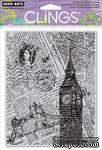Резиновый штамп Hero Arts - London Background, c оснасткой - ScrapUA.com