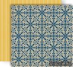 Лист скрапбумаги GCD Studios - Heirloom - Splendor Collection - двусторонняя, 30х30 см - ScrapUA.com