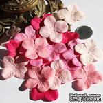 Гортензия, микс цветов: розовый, 3,2 см - ScrapUA.com