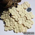 Гортензия, цвет: кремово-желтый, 5 см - ScrapUA.com