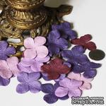 Гортензия, микс цветов: фиолетовый, 3,2 см, 20 шт. - ScrapUA.com