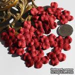 Гортензия, цвет: бордовый, 2,5 см - ScrapUA.com