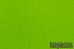 Отрез фетра 20*30 см 1,4 мм 100% полиэстер, ярко-зеленый - ScrapUA.com