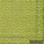 """Салфетка для декупажа """"Узор: маленькая симфония"""", цвет золото, размер: 33х33 см - ScrapUA.com"""