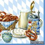 """Салфетка для декупажа """"Королевский завтрак"""", размер: 33х33 см - ScrapUA.com"""