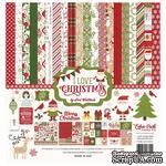 Набор бумаги от Echo Park - I Love Christmas, 12+2 листа, 30х30 см - ScrapUA.com
