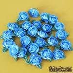 Цветочки пиона, цвет синий, 1 шт. - ScrapUA.com
