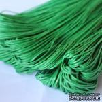 Вощеный шнур Grass, 1,5 мм, цвет зеленый, 5 метров - ScrapUA.com