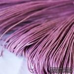 Вощеный шнур lilac, 1,5 мм, цвет сиреневый, 5 метров - ScrapUA.com