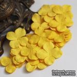 Гортензия, цвет: желтый, 3,2 см, 20 шт. - ScrapUA.com