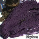 Вощеный шнур, 1,5мм, цвет темно-фиолетовый, 5 метров - ScrapUA.com