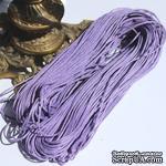 Вощеный шнур, 1,5 мм, цвет сиреневый, 5 метров - ScrapUA.com
