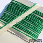 Каптал, с зеленой кромкой, ширина 12 мм,  длина 50 см - ScrapUA.com