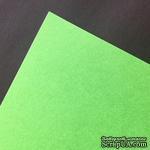 Двусторонний лист бумаги Hyacint, цвет зеленый, размер А4, 110гр/м.кв - ScrapUA.com