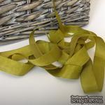 Лента Seam Binding Dusty Olive, ширина 14мм, длина 90см - ScrapUA.com