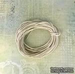 Вощеный шнур, льняной, 1,5 мм, 5 метров - ScrapUA.com