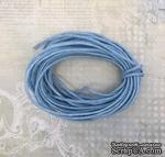 Вощеный шнур, светло-голубой, 1,5 мм, 5 метров - ScrapUA.com