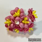 Лютики, цвет розовый насыщенный, 7 шт. - ScrapUA.com