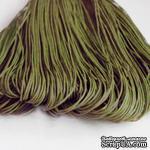 Вощеный шнур, 1,2мм, цвет темно-оливковый,  5 метров - ScrapUA.com