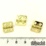 Петля маленькая, 12х13мм, 1 деталь - ScrapUA.com