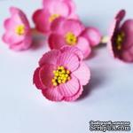 Магнолия, 40мм, цвет розовый, 1 шт. - ScrapUA.com
